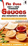 Free eBook - No Fuss Fast and Easy EveryDay Sauces