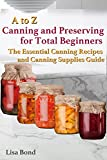 Free eBook -   A to Z Canning and Preserving