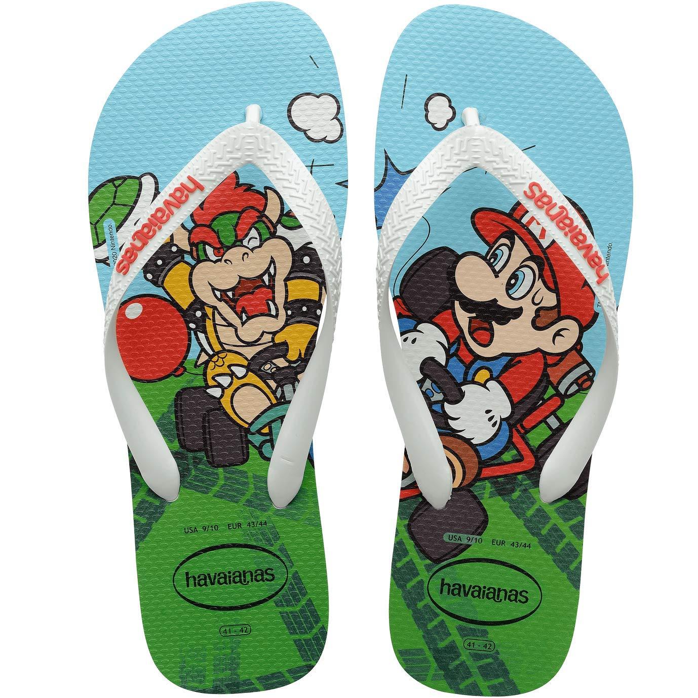 Até 40% off em Havaianas Mario Bros