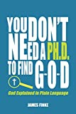 Bargain eBook - You Don t Need a Ph D  To Find G O D