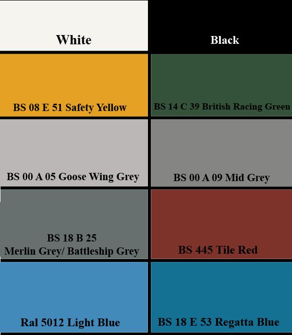 Amazon T A Paints Ltd Online Colour Charts