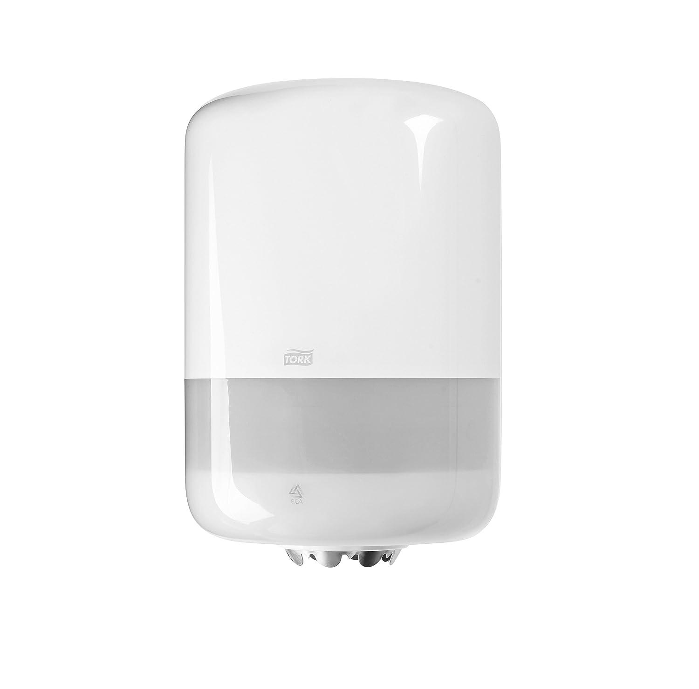 Plus M1 rolls//Paper Towel Dispenser Wall Mounted//Elevation Design Black Tork 558008 Mini Centrefeed Dispenser M1 // Paper Dispenser Suitable for Tork Mini Basic Paper Mini Wiping Paper