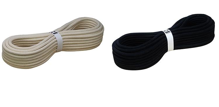 Hummelt SilverLine-Rope Baumwollseil Baumwollkordel beige K 10mm 15m Natur