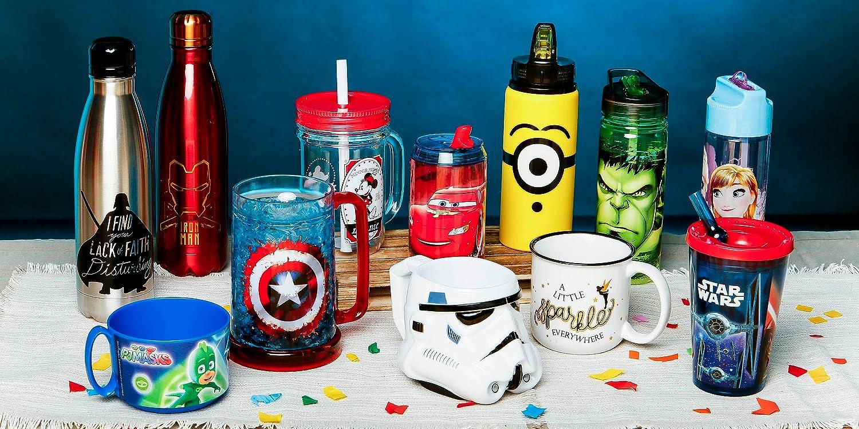 Todo lo que necesitas para beber... Botellas, Tazas, Vasos, Jarras.