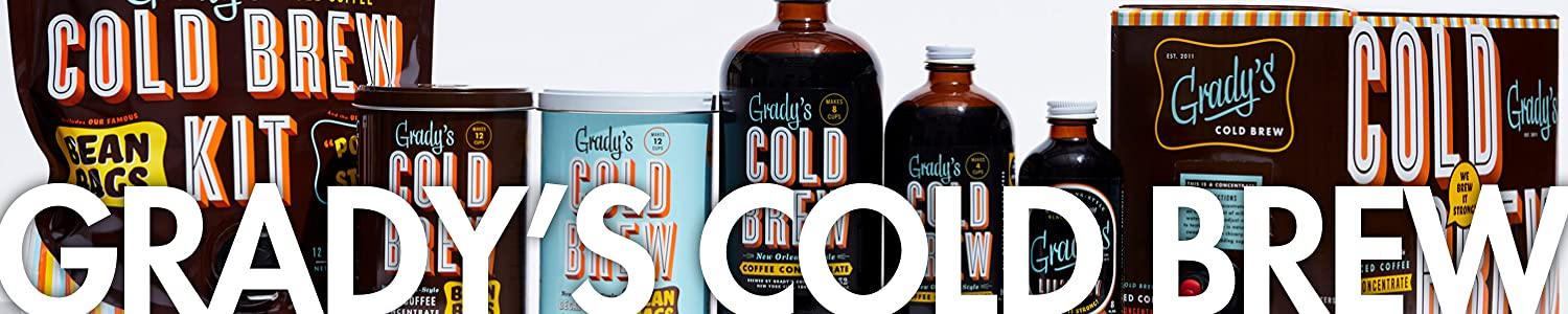 Grady's Cold Brew header