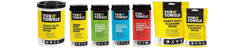 Tub O Towels header