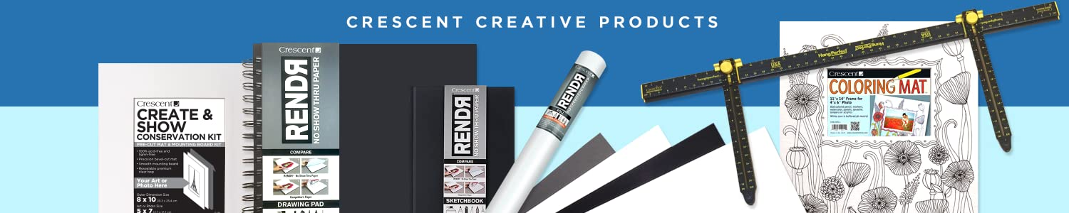 Crescent Creative Products header