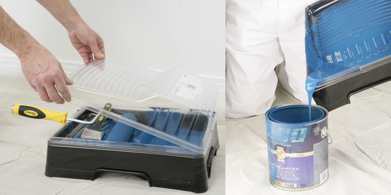 0.53 gallon 2Liter Richard 92070 Plastic Tray for Floor Liters  91//2