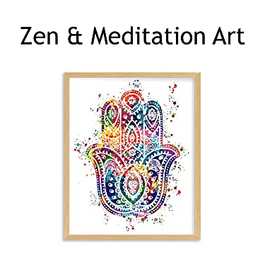 zen & meditation wall art