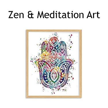 zen & meditation wall art