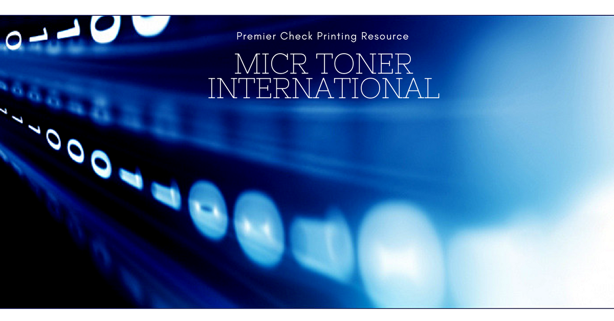 MICR Toner International image
