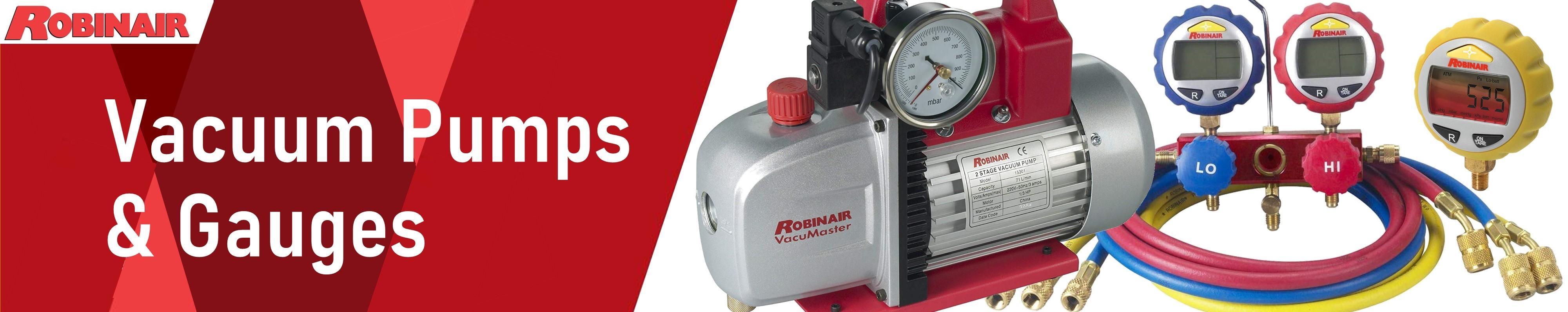 118 liters//minute Robinair VacuMaster Economy Vacuum Pump 15501 2-Stage