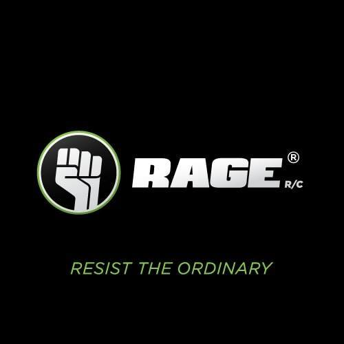 Rage R//C Tail Set; Vintage Stick
