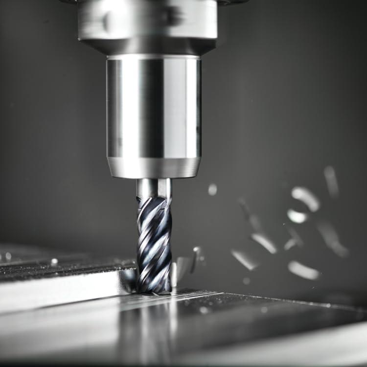 WIDIA Hanita D0021800T018 VariMill D002 GP Rough//Finish End Mill 0.3 mm Chamfer 2FL Uncoated 18 mm Cutting Dia Carbide RH Cut Straight Shank