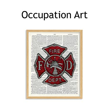 occupation wall art