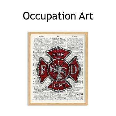 occupation wall art