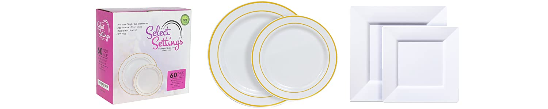 Select Settings premium single-use dinnerware image