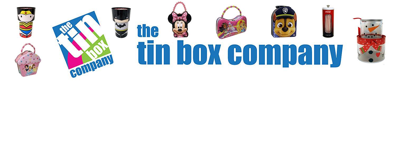 The Tin Box Company header