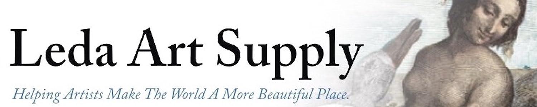 Leda Art Supply header