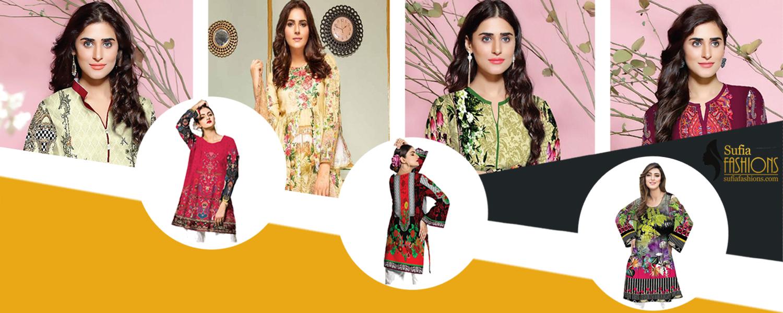 Sufia Fashions® Women Pakistani Winter Kurta Kurti Khaddar Digital Print Tunic