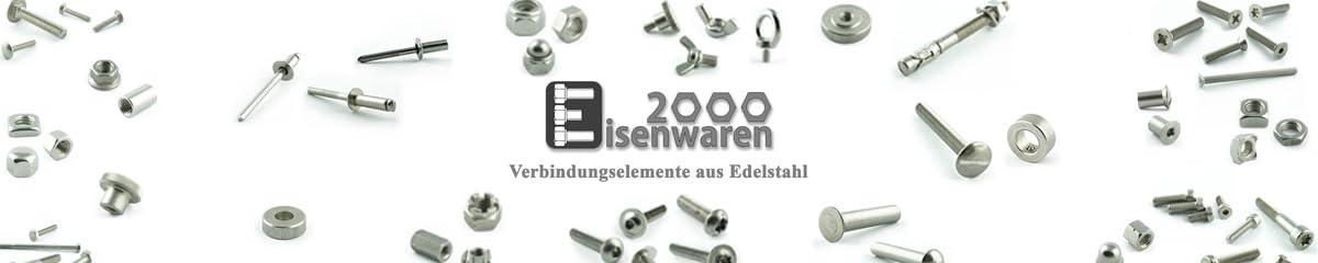 Zylinderschrauben mit Innensechsrund TX M5 x 8 mm Edelstahl A2 V2A Eisenwaren2000 rostfrei 10 St/ück DIN 912 Gewindeschrauben - Zylinderkopf Schrauben ISO 14579