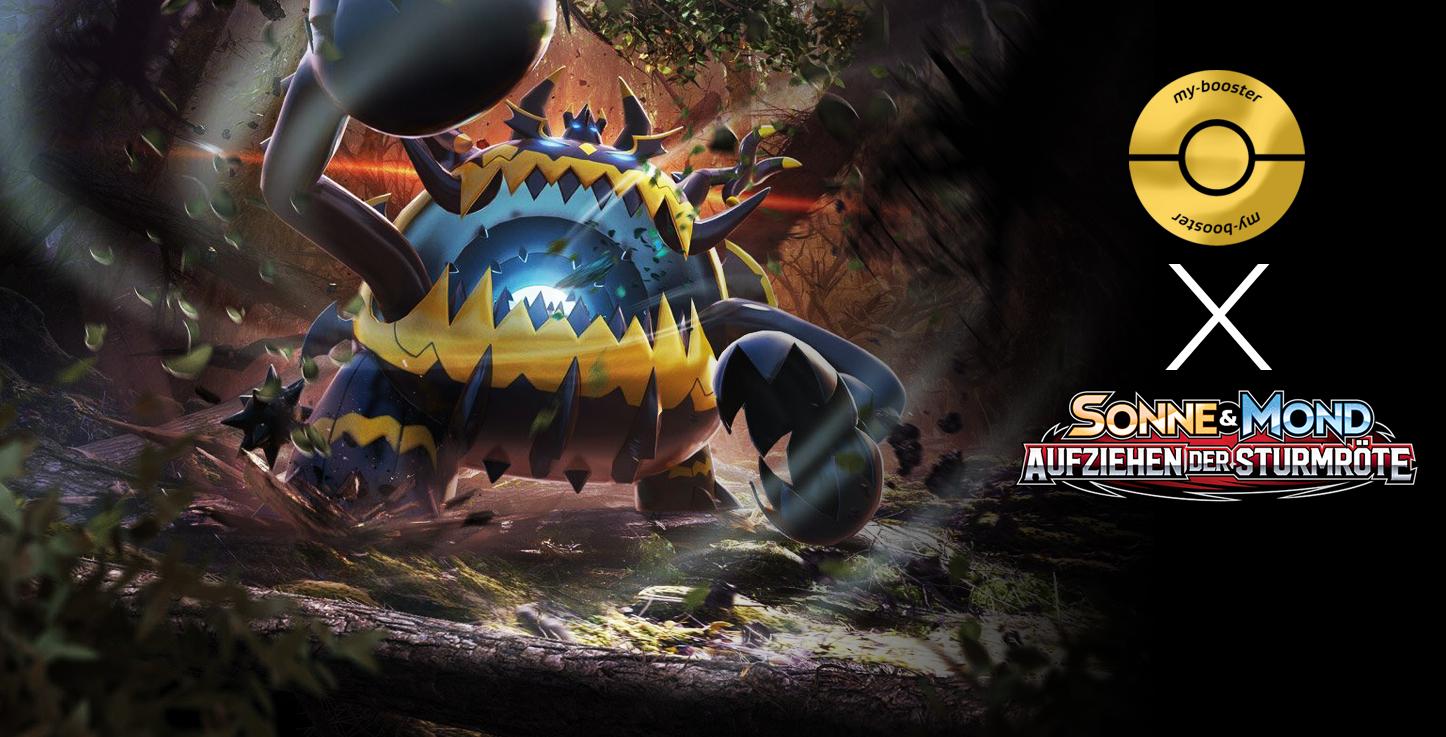 Aufziehen der Sturmröte Pokemon 111//111 Mayla Sonne und Mond