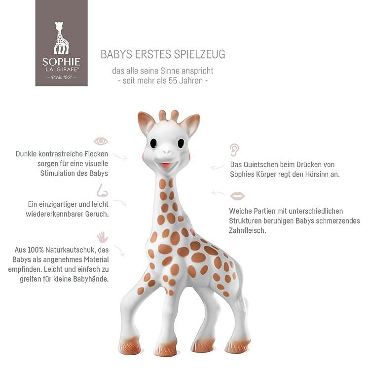 Pflege Sophie Die Giraffe I Love Sophie Set Baby-beißring Spielzeug Neu