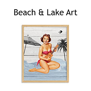 beach & lake house wall art