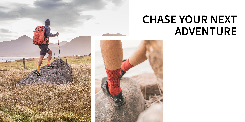 for Trekking /& Outdoor 2-Pack for Spring DANISH ENDURANCE Merino Wool Premium Hiking Socks for Men /& Women