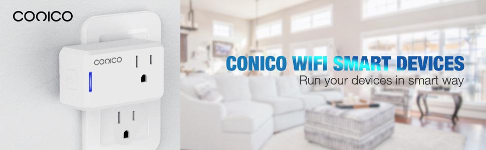 Conico header