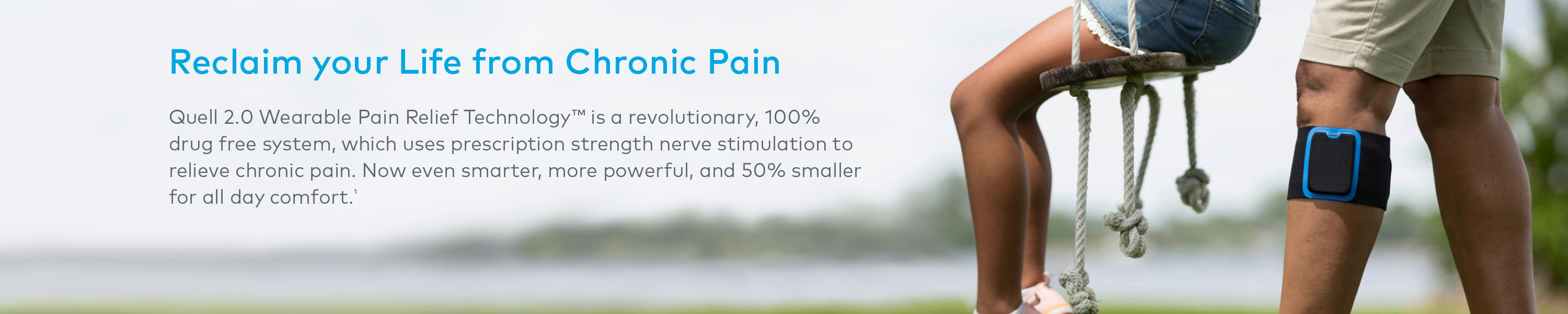 Image result for Quell 2.0 Wearable Pain Relief Technology