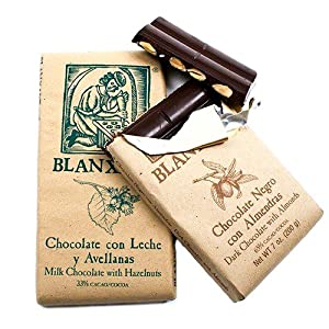 Rustic packaging is a reflection of the all natural ingredients and hand-made processes that make up this fine chocolate