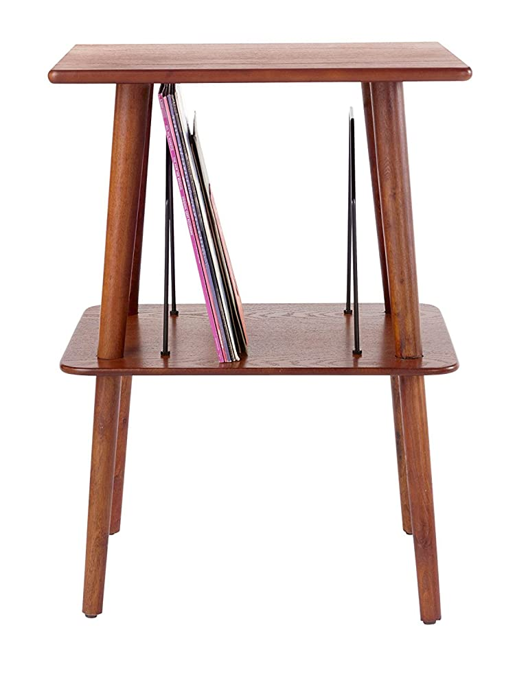 Give Your Turntable A Home In Your Home. The Manchesteru0027s Beautiful  Hardwood And Veneer Finish Gives This Mid Century Modern Turntable Stand A  Craftsmanu0027s ...