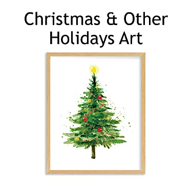 christmas & holiday wall art