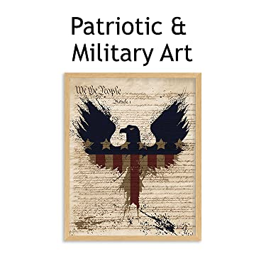 patriotic & military wall art