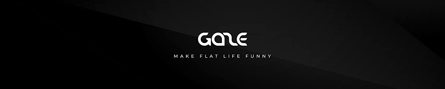 GAZE DESK header