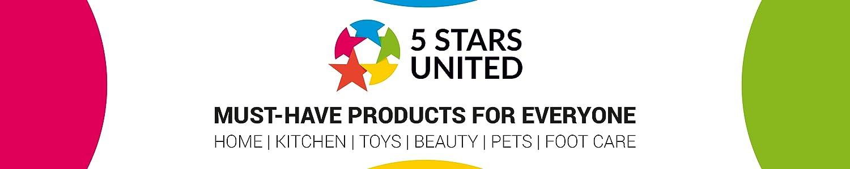 5 STARS UNITED header