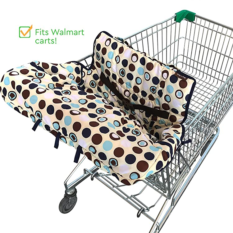 2-in-1 Shopping Cart & High Chair Cover