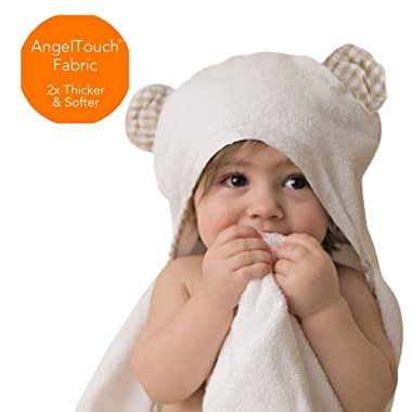 Thick /& Soft Toddler Robe Organic Bamboo Hooded Bathrobe Towel Channing /& Yates Premium Baby Robe
