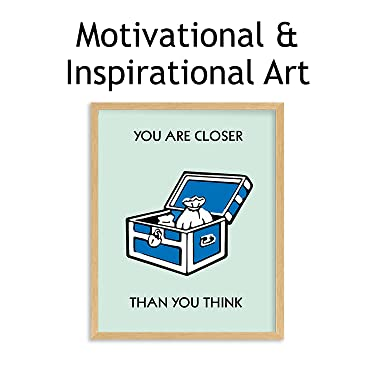 motivational & inspirational wall art