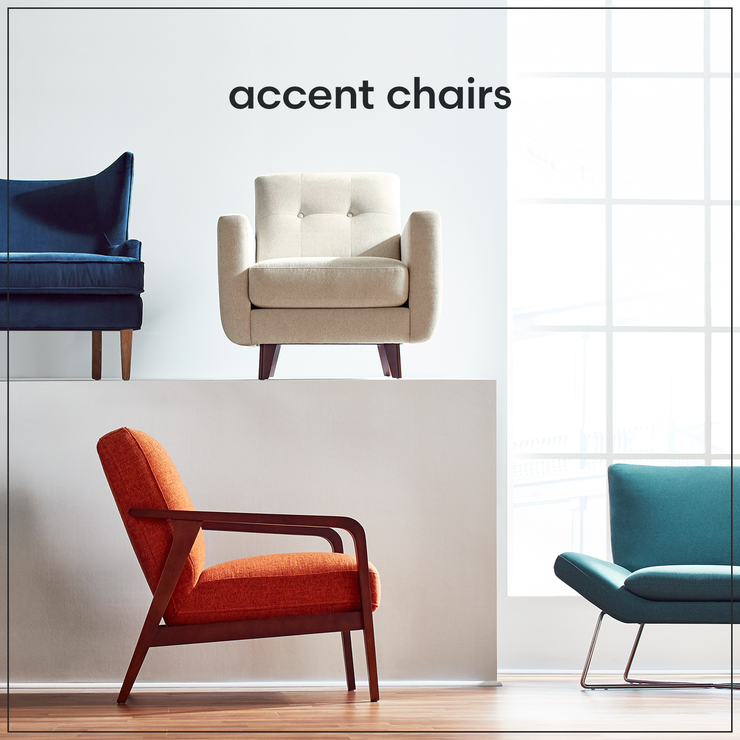 Amazon Rivet Accent Chairs Discount Living Room Accent Chairs