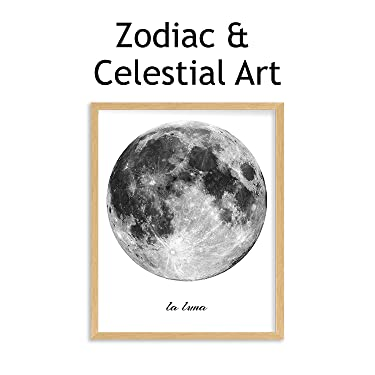 zodiac & celestial wall art