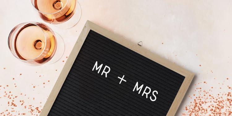 eventos perfectos para usarse como tarjetas de distribuci/ón de invitados en bodas etc. 7/x/7/cm con caballete de madera Lifestyle /& More 24/minilienzos sobre bastidor