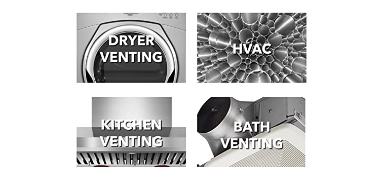 with 4-inch diameter collar Black Galvanized Metal Renewed Builders Best 012635 Roof Vent Cap