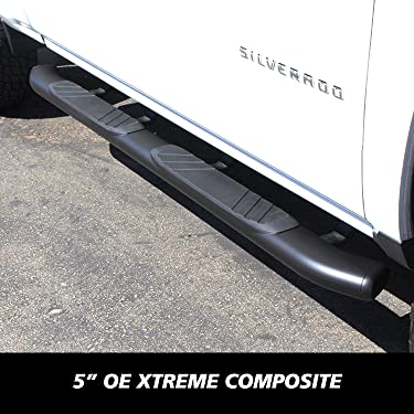 Go Rhino 640087T Textured Black 4 OE Xtreme Side Step Cab Length
