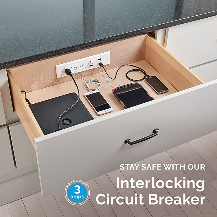 Amazon Com Docking Drawer Charging Outlets