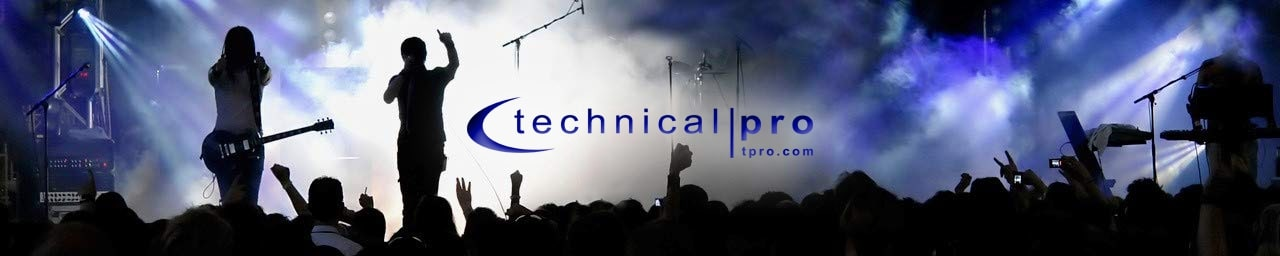 Technical Pro header