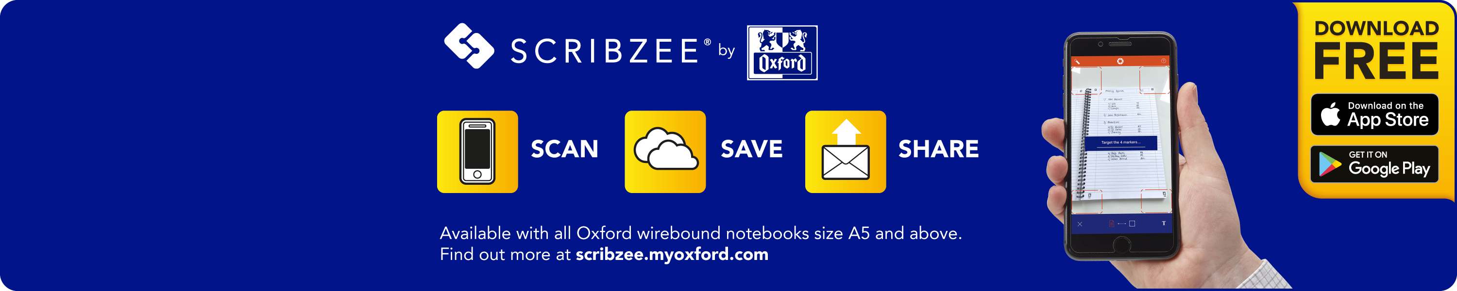 Amazon co uk: Oxford Campus Notebooks: Scribzee