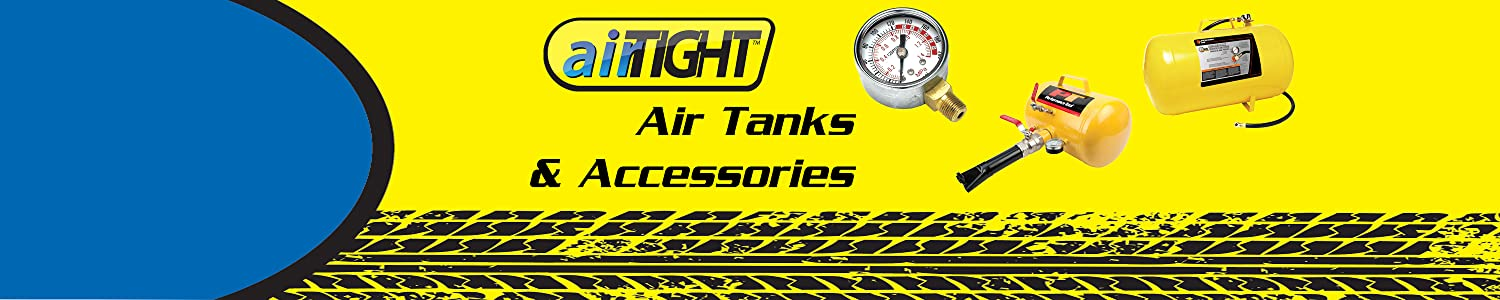 Performance Tool airTIGHT Air Tanks and Accessories
