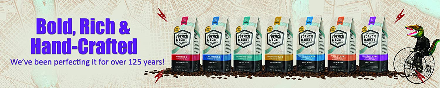 French Market Coffee header